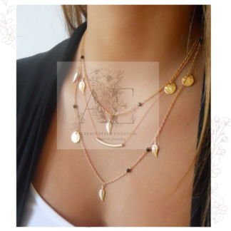 Gold Festival Layered Necklace